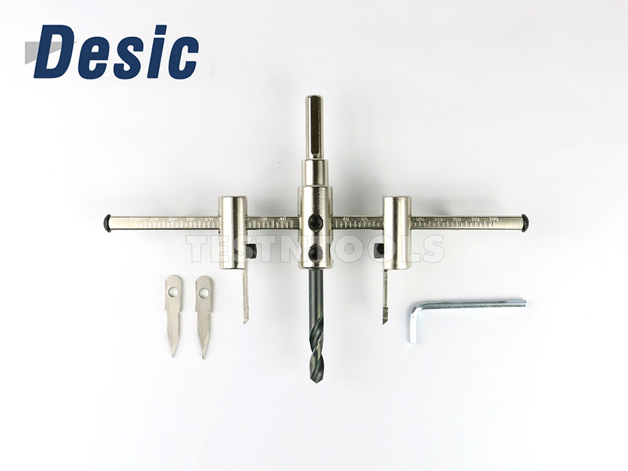 Accessories :: Drilling :: Circle hole cutter :: Desic Adjustable Circle Hole Cutter 200mm Premium