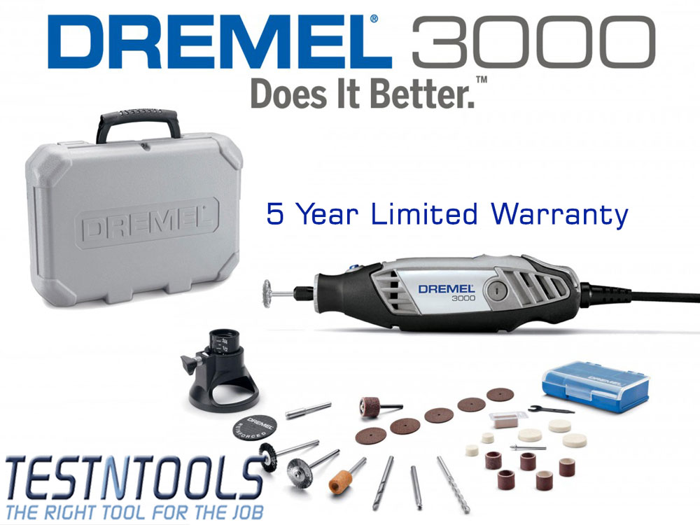 Power Tools Rotary Tool Dremel 3000 Rotary Tool With
