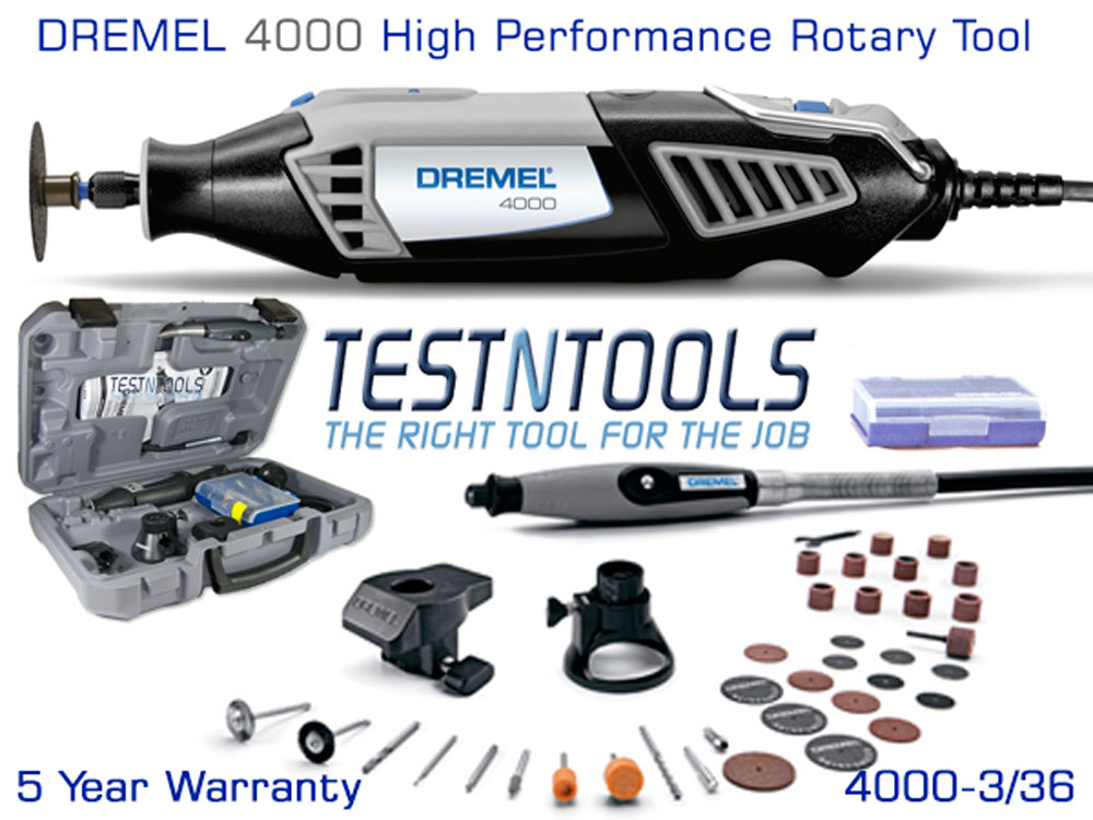 power tools rotary tool dremel 4000 with 3. Black Bedroom Furniture Sets. Home Design Ideas