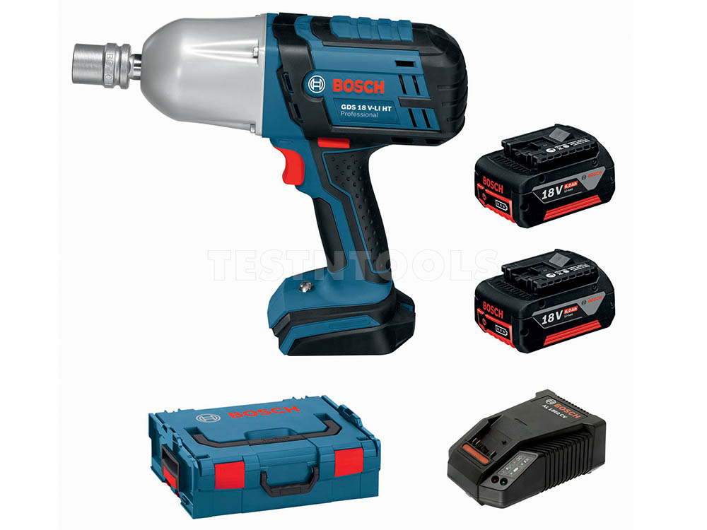 Tools Impact Wrench Bosch 18v High Torque 6 0ah Kit Gds18vht 0615990h3k