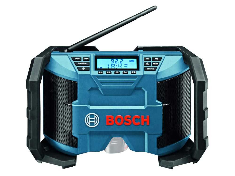 workshop radio bosch 18v worksite radio soundboxx tool only gml18visoundboxx 0601429940. Black Bedroom Furniture Sets. Home Design Ideas