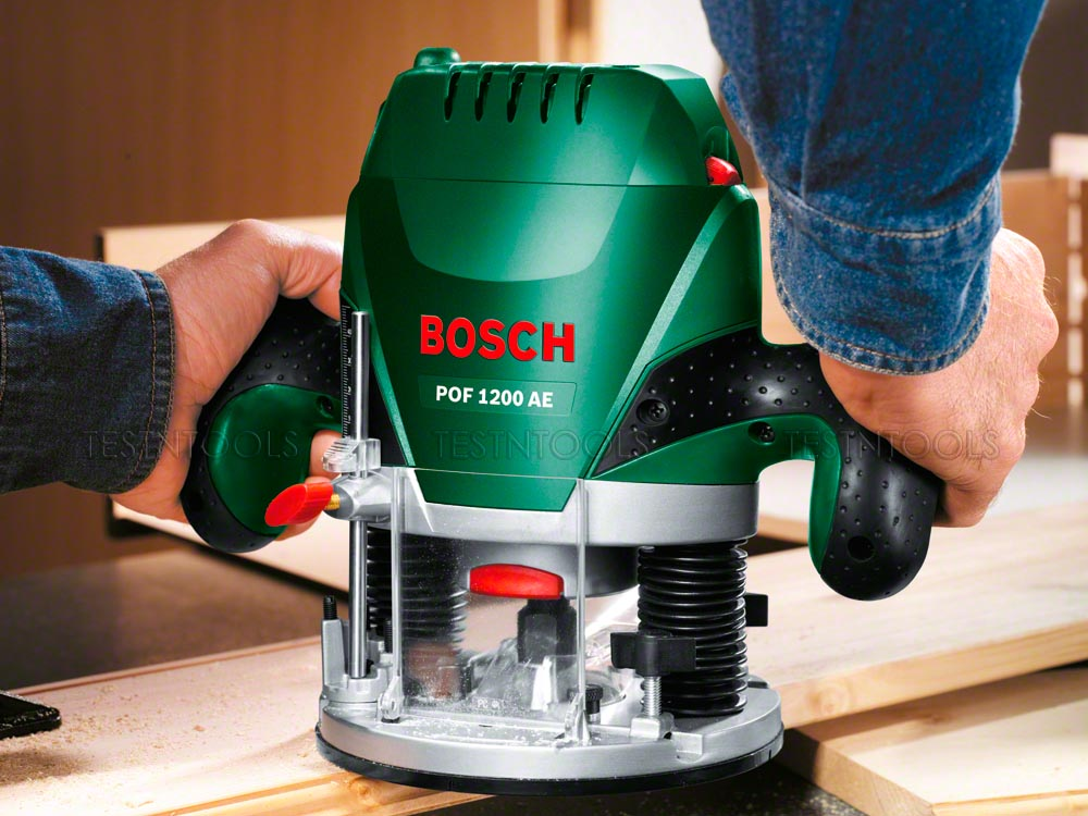Power Tools Router Bosch Variable Speed Plunge