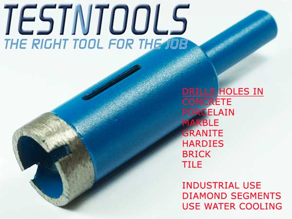 Accessories Drilling Diamond Sintered Hole Saw Desic - Diamond tip hole saw for tile