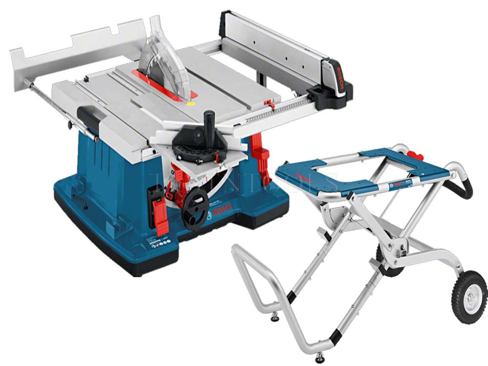 Bosch Table Saw GTS10XC With Stand GTA60W 0615990HA6