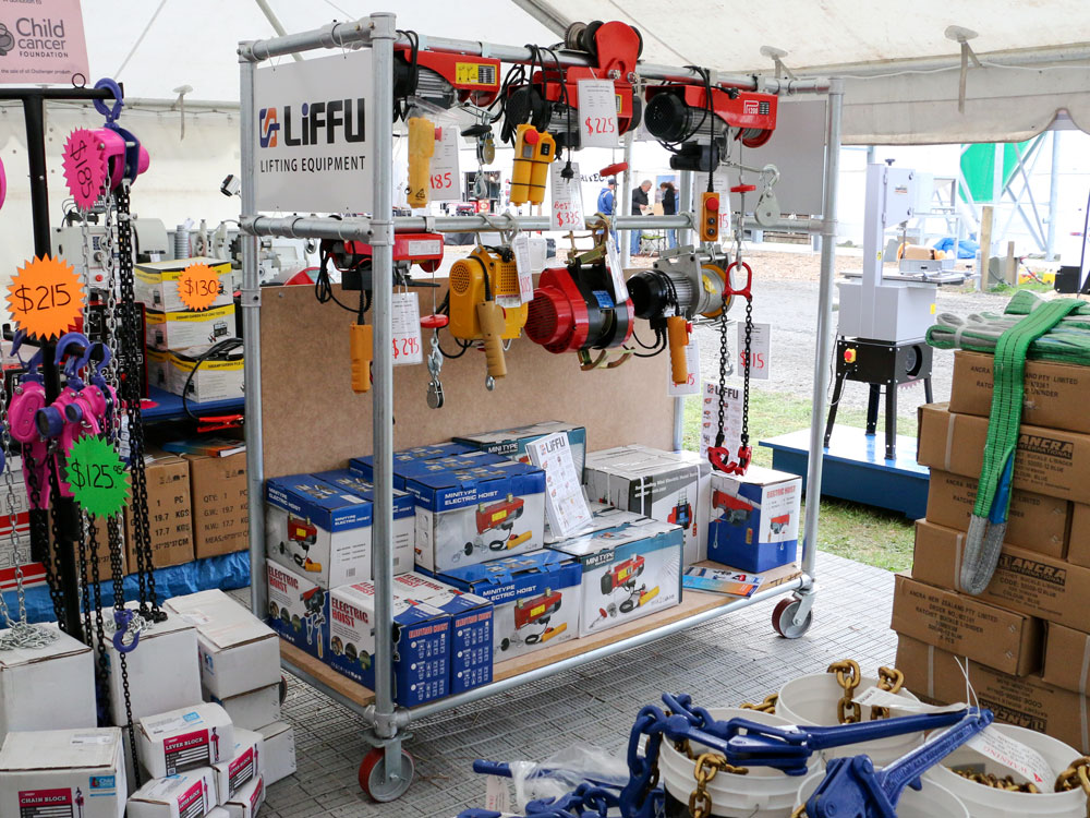 Fieldays 2015 Liffu Hoists