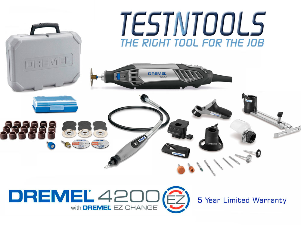 Power Tools Rotary Tool Dremel 4200 With 7