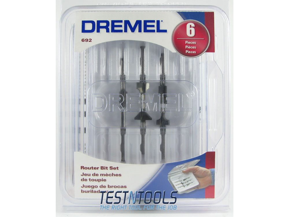 Accessories Rotary Tool Routing Dremel Router Bit Set 6