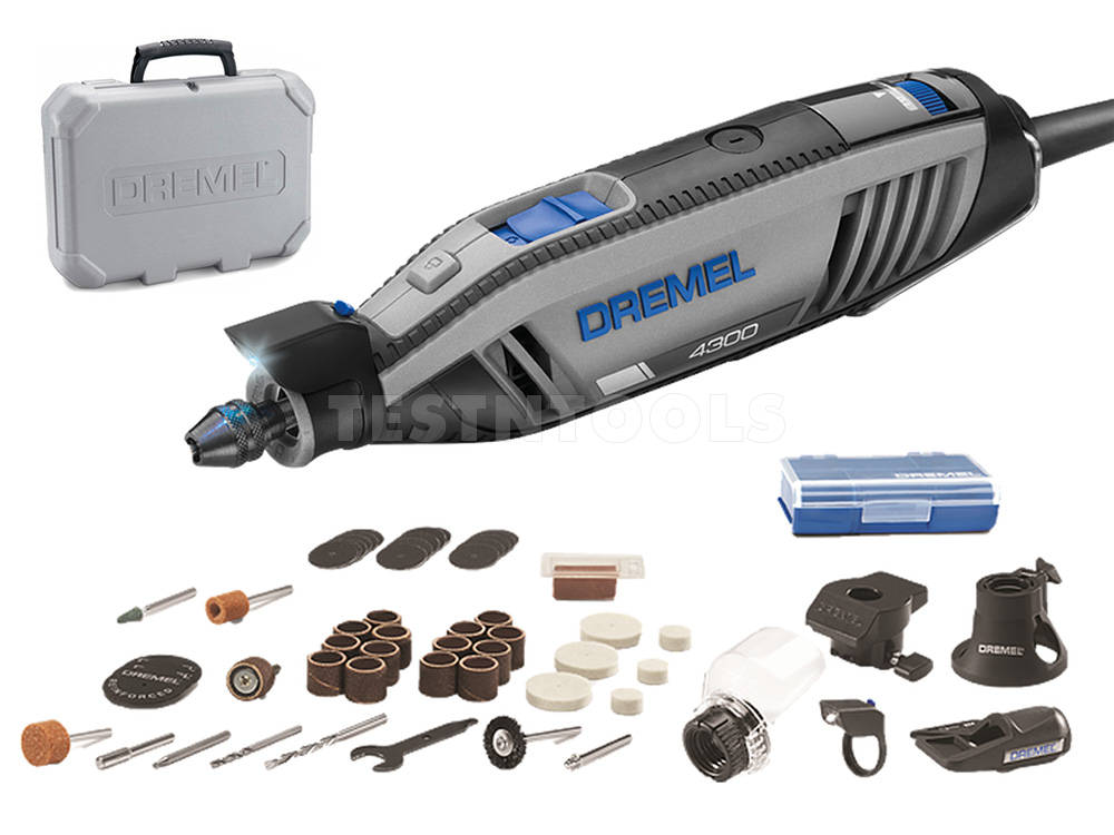 power tools rotary tool dremel 4300 with 5. Black Bedroom Furniture Sets. Home Design Ideas