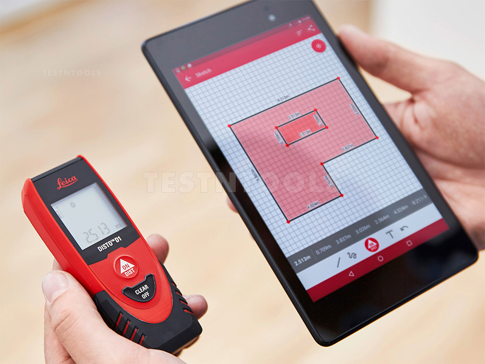 Leica Entfernungsmesser Disto D2 New Bluetooth Test : Leica digital measuring device photos and descriptions