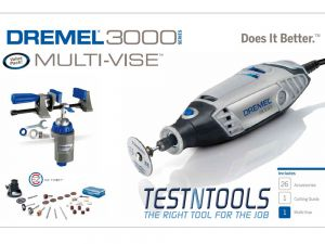 Dremel 3000 Rotary Tool With 26 Acc. And Multi-Vise 0615993506