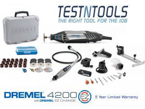 Dremel 4200 With 7 Attachments 40 Acc. 4200-7/40 F0134200ND
