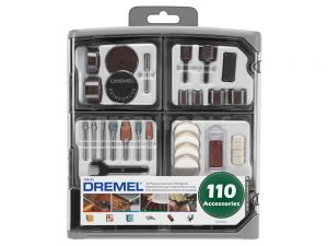 Dremel Accessory Kit 110 Piece 709 26150709AD
