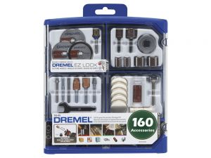 Dremel Accessory Kit 160 Piece 710 26150710AK