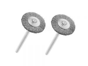 Dremel Carbon Steel Brush 428 2 Pack 26150428AB