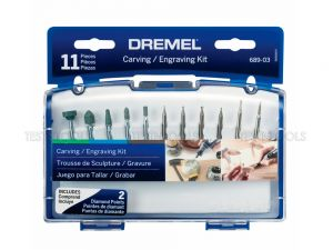 Dremel Carving And Engraving Kit 11 Piece 689-01 26150689AD