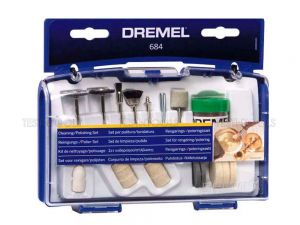 Dremel Cleaning And Polishing Kit 20 Piece 684-01 26150684AA