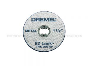 Dremel EZ Lock Metal Cut-Off Wheels 38mm 5 Pack EZ456 2615E456AE