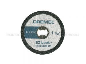 Dremel EZ Lock Plastic Cut-Off Wheels 38mm 5 Pack EZ476 2615E476AC