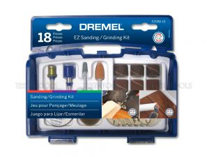 Dremel EZ Lock Sanding And Grinding Kit 18 Piece EZ686 2615E686AA