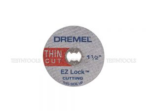 Dremel EZ Lock Thin Cut Metal Cut-Off Wheels 38mm 5 Pack EZ409 2615E409AA