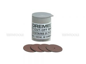 Dremel Heavy Duty Cut-Off Wheels 23.8mm 20 Pack 420 2615000420
