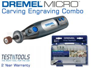 Dremel Micro 8V Max Rotary Tool Kit Carving And Engraving Combo