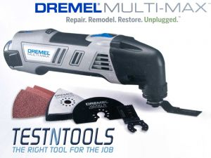 Dremel Multi-Max 10.8V Cordless Multi-tool Kit 8300-01 F0138300NA