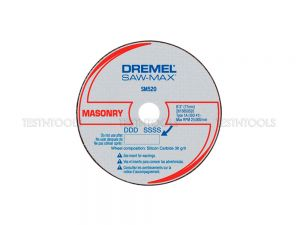 Dremel Saw-Max Masonry Cut-Off Wheel 3 Pack SM520 2615S520NC