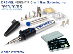Dremel Versatip 2000 Gas Soldering Iron 6 In 1 F0132000JA
