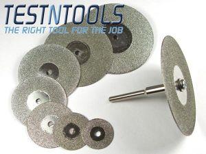 Desic Diamond Coated Cutting Wheels 16-50mm 9 Piece Set