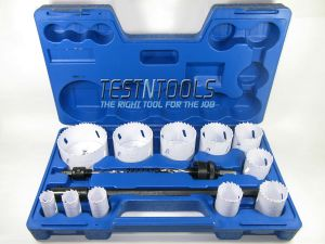 Desic Bimetal Holesaw Set 19-76mm 15 Piece With Extension