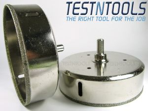 Desic Diamond Coated Holesaw Glass And Tiles 125mm