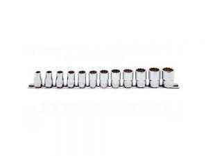"Koken Socket Set On Rail 3/8"" Drive 8mm - 19mm 12PT 12 Piece RS3405M/12"