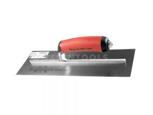 Marshalltown Carbon Steel Finishing Trowel DuraSoft Handle 275mm x 113mm MTMXS1D