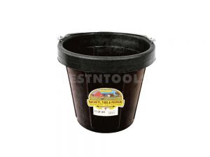 Marshalltown Rubber Bucket Standard Lip 9.5l (10qt) MTDF10
