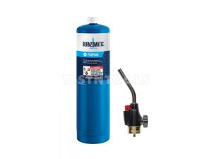 Bernzomatic Gas Torch Kit Trigger Start With TX9 Tall Boy Propane Cylinder GAST-WK2301