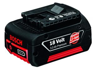 Bosch Blue 18V 3.0Ah Lithium Ion Battery 1600Z0001K