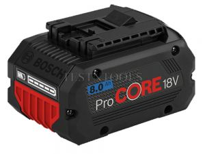 Bosch Blue 18V 8.0Ah ProCore Lithium Ion Battery 1600A016GK
