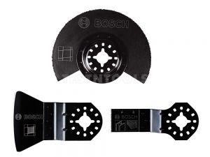 Bosch Starlock Multi-tool Accessory Set Basic For Tiles 3 Piece OMTSET 2608662342