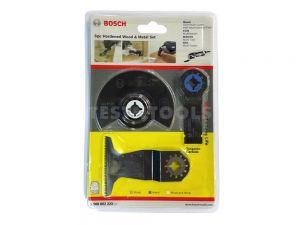 Bosch Starlock Multi-tool Accessory Set For Hardened Wood & Metal 3 Piece 3ERSETOMT 2608662223