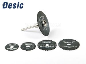 Desic Mini Saw Blades For Dremel 22-44mm 6 Piece Set