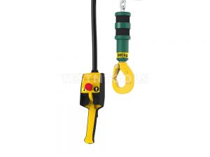 JDN Air Hoist 1000kg Food Grade with Stainless Steel Hook and Chain Mini1000