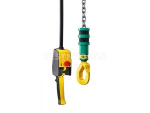 JDN Air Hoist 500kg Food Grade with Stainless Steel Hook and Chain Mini500