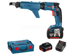 Bosch 18V Brushless Screw Gun 6.0Ah Kit GSR18VEC-TE 0615990H3L