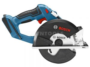 Bosch 18V Metal Cut Circular Saw 136mm Tool Only GKM18VLi 06016A4040