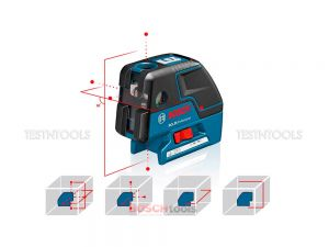 Bosch GCL25 Point and Line Combi Laser 0601066B00