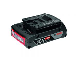 Bosch Professional 18V 2.0Ah Battery 1600A001CG