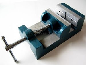 Desic Drill Press Vise Box Shape 7404 (4.5 Inch/111mm)