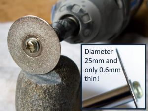 Desic Mandrel To Suit Diamond Coated Cutting Wheels