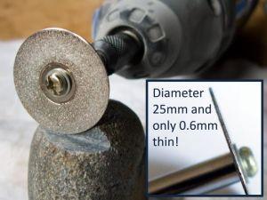 Desic Mandrel To Suit Diamond Coated Cutting Wheels